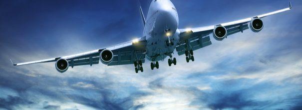 Самолёт в небе