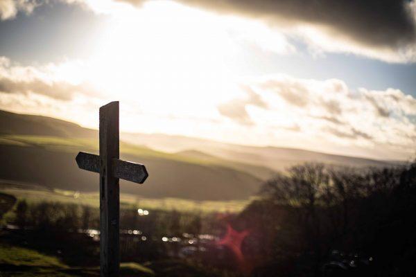 Крест-надгробие