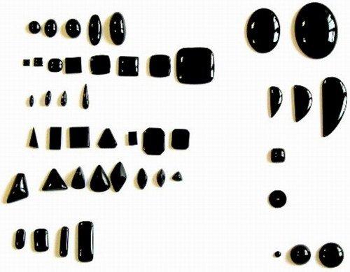 Кабошоны разной формы