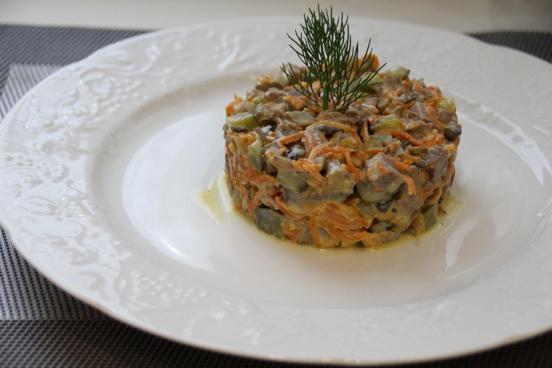 печеночный салат классический рецепт с фото того чтобы понять