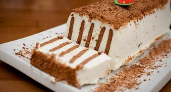 Торт с шоколадным печеньем