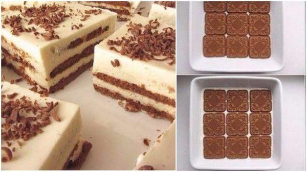 Печенье и торт из него