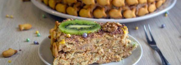 торта из печенья «Рыбки»