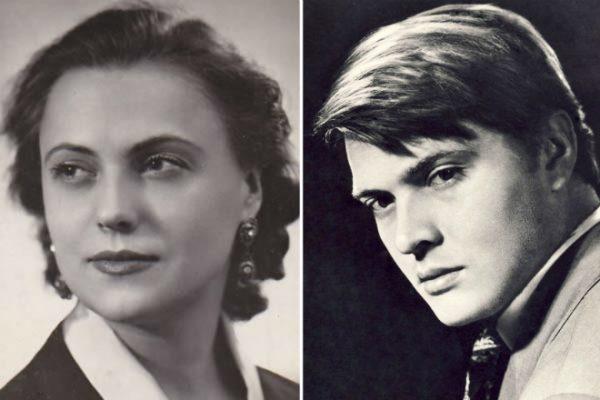 Инна Кмит и Борис Быстров