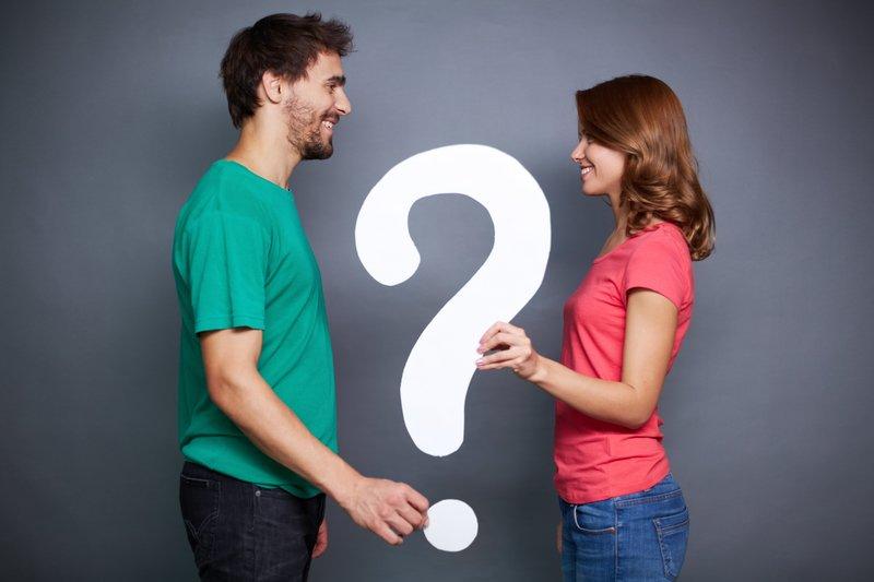 Мужчина, женщина, вопрос