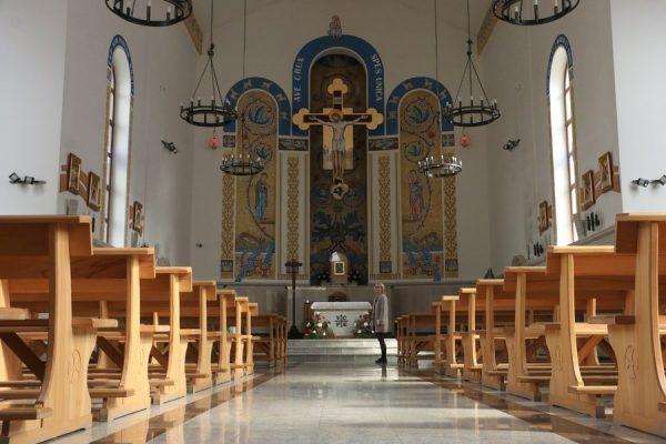 Католическая церковь внутри