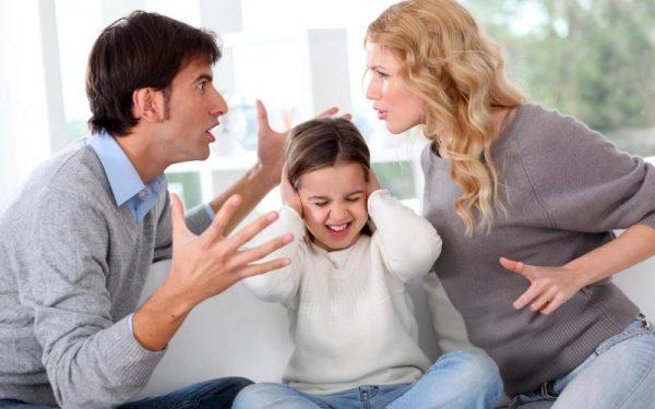 Семья ссорится