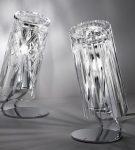 Светильники из хрустальных стаканов