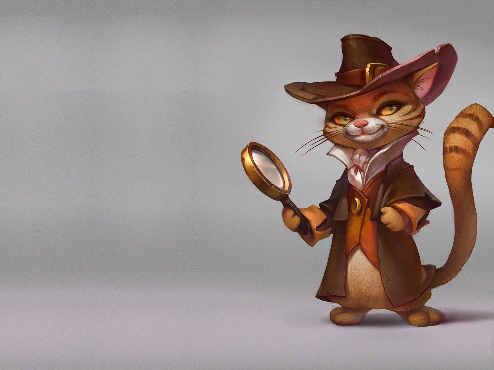 кот-детектив