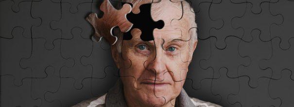 Пазл с изображением пожилого мужчины