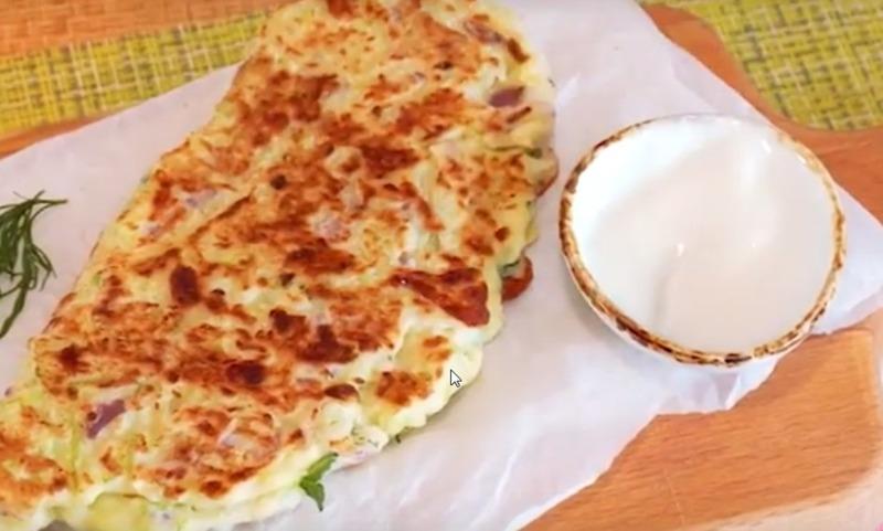 Хачапури из кабачка
