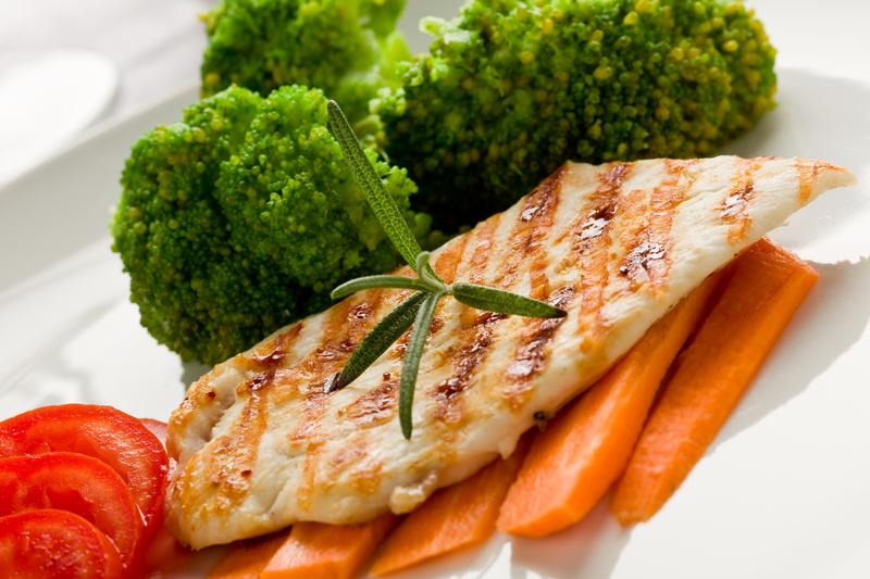 Нежная куриная грудка - идеальный продукт для меню правильного питания