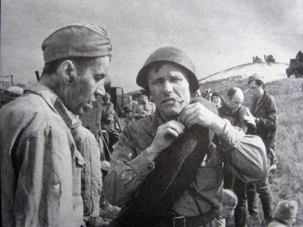 Георгий Бурков и Василий Шукшин