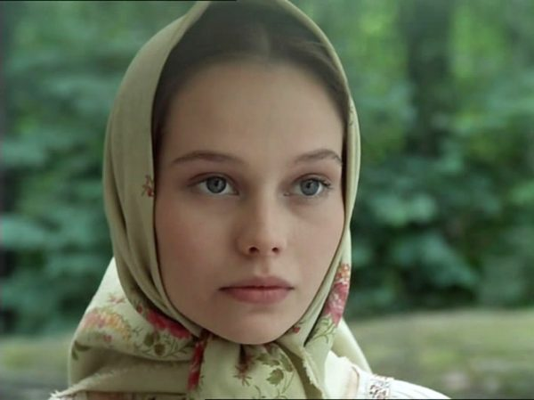 Елена Корикова в молодости