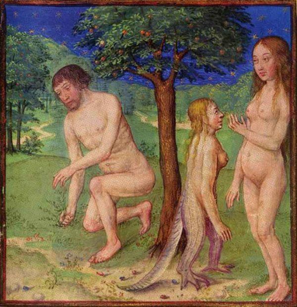 Адам, Ева и Лилит