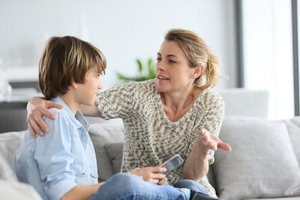 Родитель и подросток