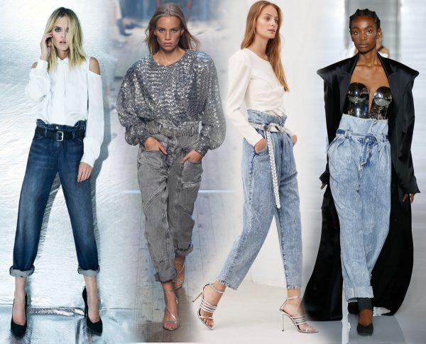 Модные джинсы осень-зима 2019–2020