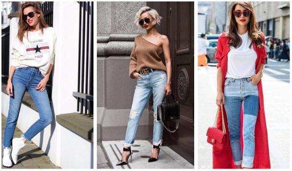 Модные джинсы 2019–2020 — варианты образов