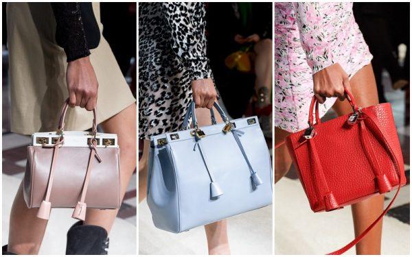 Классические сумки разных цветов
