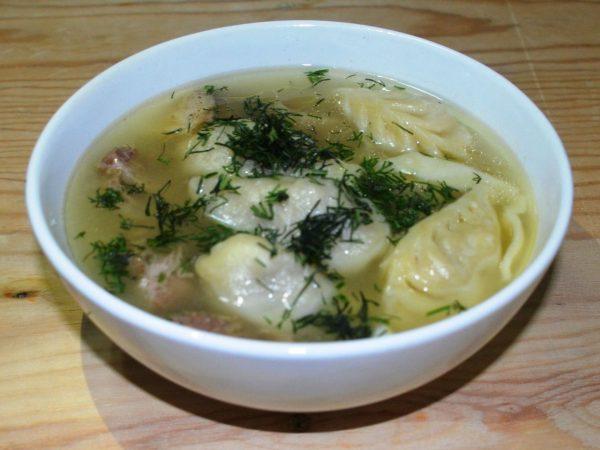 Бурятский суп «Шулэн»