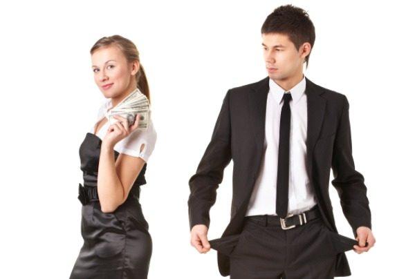 Женщина, деньги и мужчина