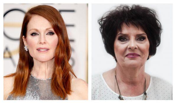 Рыжий и чёрный цвет волос после 50 лет