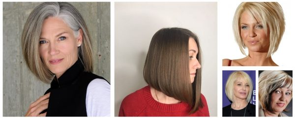 Вариации стрижки «боб» на средние волосы