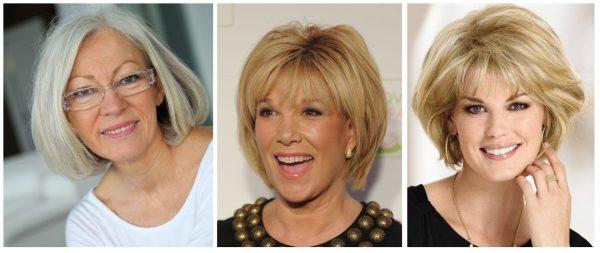 Вариации стрижки «каре» на средние волосы