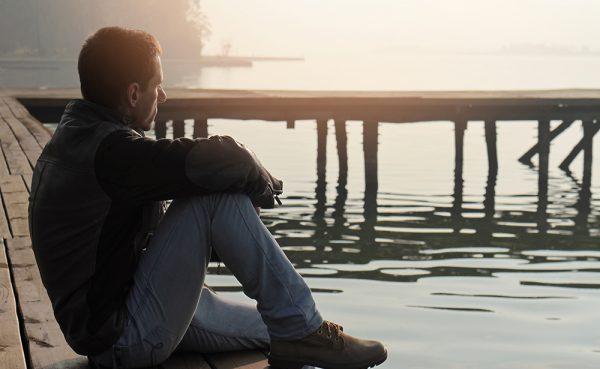 Мужчина-интроверт