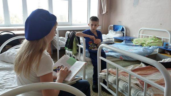 Волонтёр в больнице