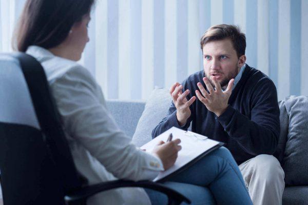 Консультация у психотерапевта