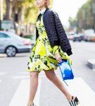 Момбер с платьем