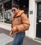 Короткая дутая куртка