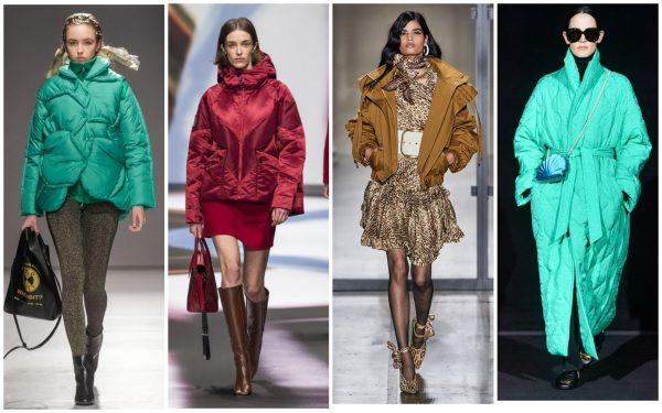 Модные цвета курток 2019–2020