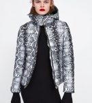 Куртка со змеиным окрасом