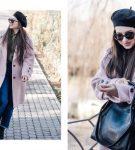 Девушка в модном берете