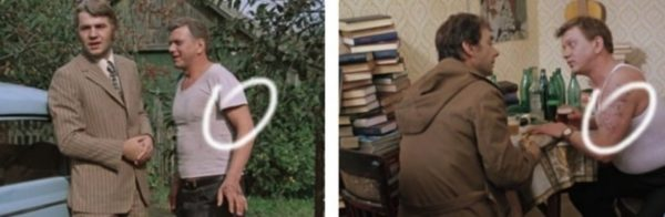 Борис Сморчков в роли Николая с татуировкой и без неё