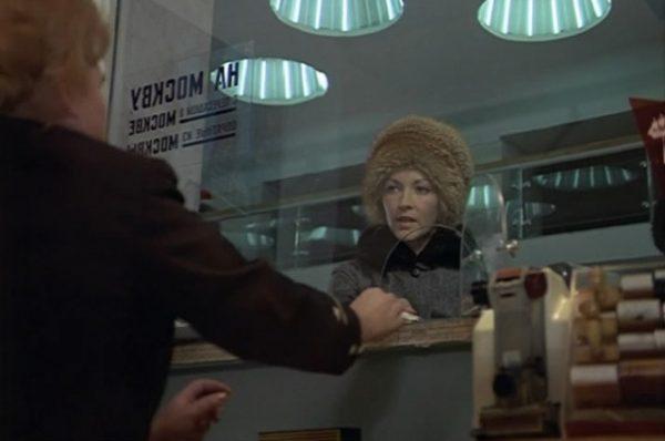 Надежда у окошечка кассы на канале Грибоедова, 24