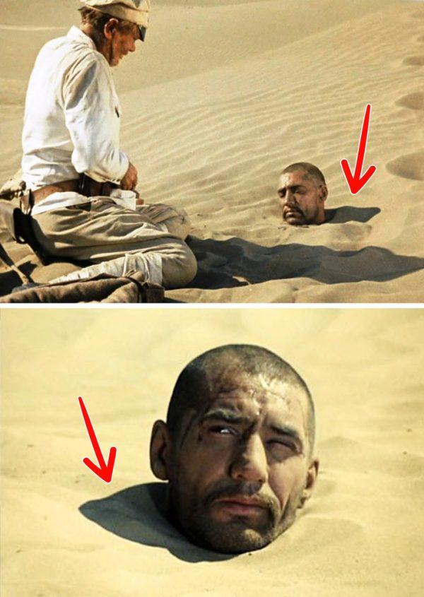 Кадры из кинофильма «Белое солнце пустыни»