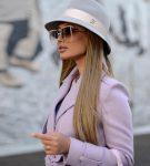 Классическая шляпа с лентой
