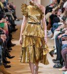 Золотое платье из коллекции Altuzarra