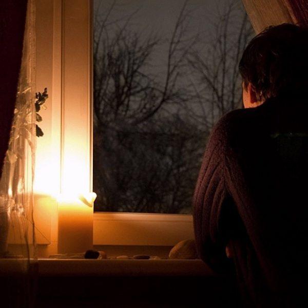 Одиночество вечером