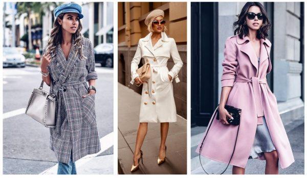Модное платье-тренч 2019–2020