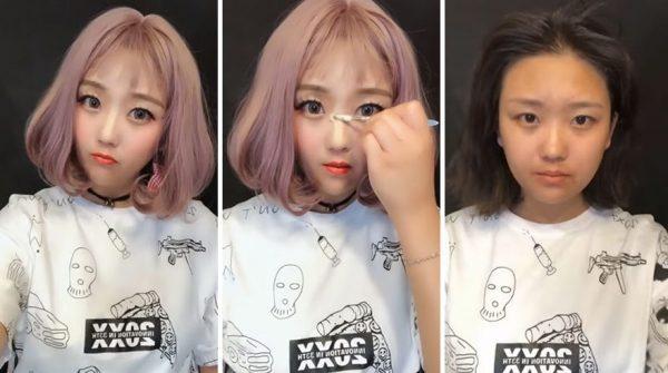 Вирусный китайский макияж