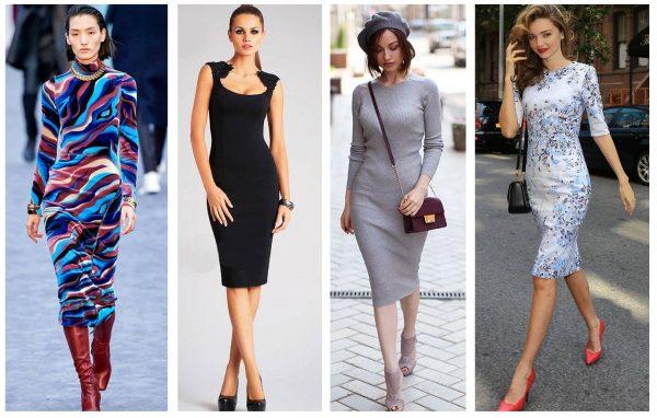 Трендовые фасоны — платья 2019–2020