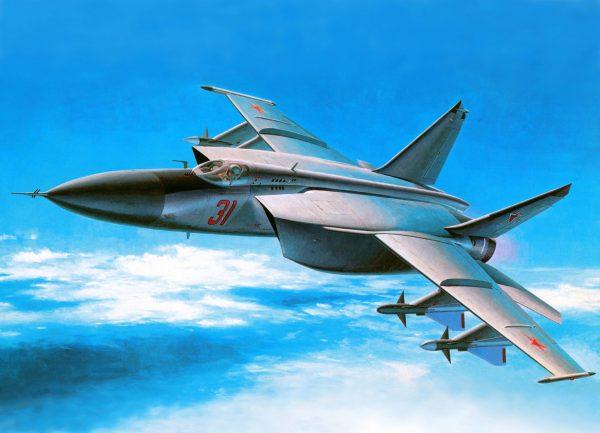 Перехватчик МИГ-25п
