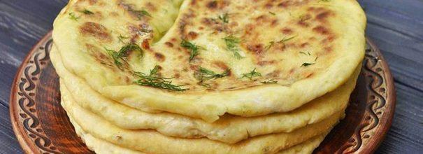 пирог с сыром и зеленью