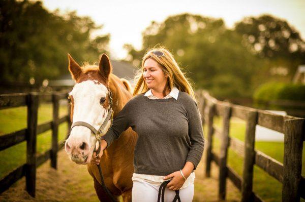 Лошадь и её хозяйка