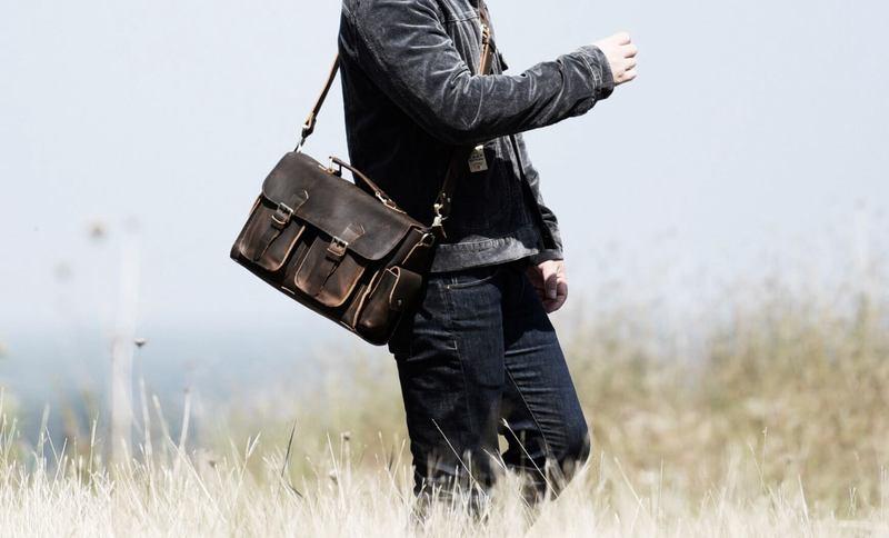 Мужчина с сумкой