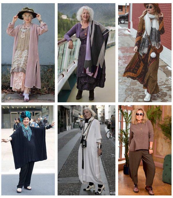 Примеры осенней одежды в стиле бохо